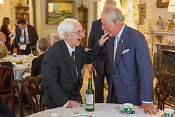 File photo dated 06/09/16 of the Prince of Wales with veteran Flying Officer Ken Wilkinson, one of the last surviving Spitfire pilots from the Battle of Britain, who has died.