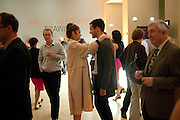 BRYONY STONE; GEORGE NEWALL, Opening of Eadweard Muybridge and Rachel Whiteread exhibitions. Tate Britain. Millbank. 6 September 2010. -DO NOT ARCHIVE-© Copyright Photograph by Dafydd Jones. 248 Clapham Rd. London SW9 0PZ. Tel 0207 820 0771. www.dafjones.com.