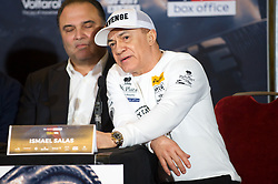 May 3, 2018 - London, London, United Kingdom - Bellew vs David Haye press conference. ..Ismael Salas during the press conference...Tony Bellew vs David Haye press conference at Park Plaza hotel. (Credit Image: © Gustavo Valiente/i-Images via ZUMA Press)