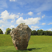 Lone Neolithic Stone - Avebury, UK