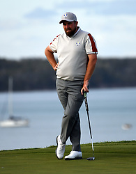 File photo dated 25-09-2021 of Team Europe's Shane Lowry on the 16th green during day two of the 43rd Ryder Cup at Whistling Straits, Wisconsin. Issue date: Wednesday September 29, 2021.