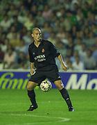 Photo Peter Spurrier<br /> 14/09/2002<br /> 2002 Real Betis vs Real Madrid  - Spanish Liga 1<br /> Ivan Helguera  - Real Madrid