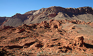 The Bowl of Fire in the Lake Mead National Recreation Area outside of Las Vegas, NV.