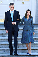 041618 Spanish Royals Attend an official lunch with Marcelo Rebelo de Sousa