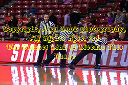 29 January 2017: Brad Maxey, Missy Brooks, and Todd Moistner during an College Missouri Valley Conference Women's Basketball game between Illinois State University Redbirds the Salukis of Southern Illinois at Redbird Arena in Normal Illinois.