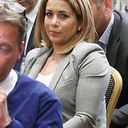 NLD/Amsterdam/20150521 - Persconferentie Michael van Praag ivm aftreden UEFA kandidatuur, Prinses Haya Bint al Hussein
