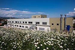 Šolski center Novo mesto, building made by Armat d.o.o., on May 26, 2016 in Novo mesto, Slovenia. Photo by Vid Ponikvar / Sportida