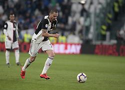 May 19, 2019 - Turin, ITA, Italy - Leonardo Bonucci during Serie A match between Juventus v Atalanta, in Turin, on May 19, 2019  (Credit Image: © Loris Roselli/NurPhoto via ZUMA Press)