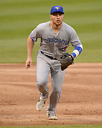 CHICAGO - MAY 16:  Brandon Drury #3 of the Toronto Blue Jays fields against the Chicago White Sox on May 16, 2019 at Guaranteed Rate Field in Chicago, Illinois.  (Photo by Ron Vesely)  Subject:  Brandon Drury