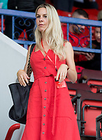 Leila Russack  spotted at Swindon Town V Colchester United football match photo By Terry Scott