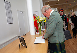 The Duke of Rothesay attended a reception in the workspace of the family owned and run business of Hawico, to celebrate British Industry in Hawick. Also present were local businesses from the initiative 'Famously Hawick'.