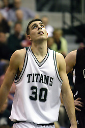 16 December 2006: Zach Freeman. The University of Chicago Maroons upset  the Illinois Wesleyan Titans 64 - 60 at the Shirk Center in Bloomington Illinois.<br />