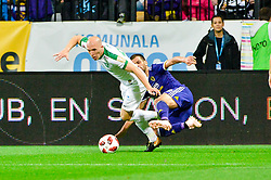Mitja Viler of NK Maribor during football match between NK Maribor and NK Olimpija Ljubljana in 14th Round of Prva liga Telekom Slovenije 2018/19, on October 27, 2018 in Ljudski vrt , Maribor, Slovenia. Photo by Mario Horvat / Sportida