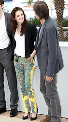 Kristen Stewart at the Cannes Film Festival for her new film On The Road, Wednesday, 23rd  May 2012. Photo by: Stephen Lock / i-Images