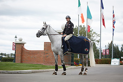 Smits Edwin, (SUI), Rouge Pierreville<br /> Spruce Meadows Masters - Calgary 2015<br /> © Hippo Foto - Dirk Caremans<br /> 08/09/15