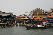 Hoi An, Vietnam. March 14th 2007..Bank of the river Thu Bon.