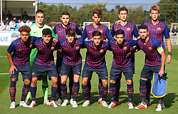 October 3, 2018 - London, England, United Kingdom - Enfield, UK. 03 October, 2018.Barcelona Team.during UEFA Youth League match between Tottenham Hotspur and FC Barcelona at Hotspur Way, Enfield. (Credit Image: © Action Foto Sport/NurPhoto/ZUMA Press)
