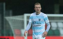 Jonas Henriksen (FC Helsingør) under kampen i 1. Division mellem Silkeborg IF og FC Helsingør den 21. november 2020 i JYSK Park (Foto: Claus Birch).