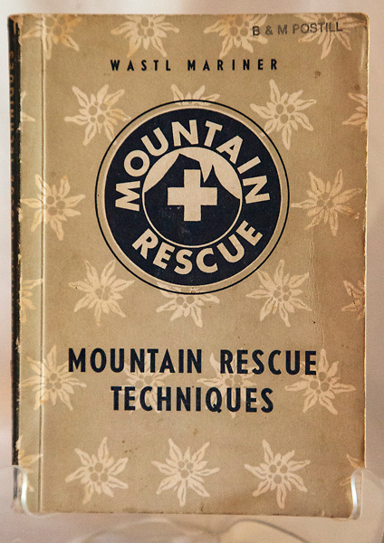 MOUNTAIN RESCUE, Wastl Mariner, Austrian Alpine Association, first English edn., 1963, 200 page softbound, His book was considered the 'bible' on mountain rescue in the 1960s. $NZ15 ( Bruce Postill collection)