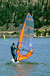Oregon: Windsurfing at Hood River (town) on Columbia River, Photo: orhood105  .Photo copyright Lee Foster, www.fostertravel.com, 510/549-2202, lee@fostertravel.com