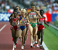 Athletics, 26. august 2003, VM Paris, World Championship in Athletics, Sonja O´Sullivan (546) og Gabriela Szabo (884), 5000 metres