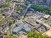 Nederland, Noord-Holland, Alkmaar, 07-05-2021; ziekenhuis Alkmaar, Noordwest Ziekenhuisgroep locatie Alkmaar<br /> Alkmaar hospital.<br /> luchtfoto (toeslag op standaard tarieven);<br /> aerial photo (additional fee required)<br /> copyright © 2021 foto/photo Siebe Swart