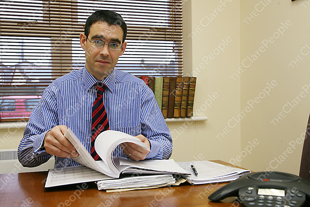 Daragh Hassett, BCL of Hassett Considine Solicitors.<br /><br /><br /><br />Photograph by Yvonne Vaughan.