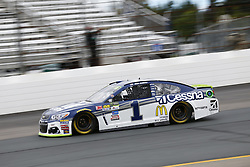 September 22, 2017 - Loudon, New Hampshire, United States of America - September 22, 2017 - Loudon, New Hampshire, USA: Jamie McMurray (1) takes to the track to practice for the ISM Connect 300 at New Hampshire Motor Speedway in Loudon, New Hampshire. (Credit Image: © Justin R. Noe Asp Inc/ASP via ZUMA Wire)