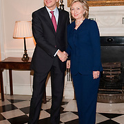 Hilary Clinton at Foreign Office