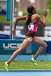 adidas Grand Prix Diamond League professional track & field meet: womens 400  meters, Christine DAY, Jamaica