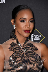 Kelly Rowland attends the 2019 E! People's Choice Awards at Barker Hangar on November 10, 2019 in Santa Monica, CA, USA. Photo by Lionel Hahn/ABACAPRESS.COM