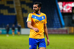 A dejected Mal Benning of Mansfield Town at full time - Mandatory by-line: Ryan Crockett/JMP - 17/02/2021 - FOOTBALL - One Call Stadium - Mansfield, England - Mansfield Town v Bolton Wanderers - Sky Bet League Two