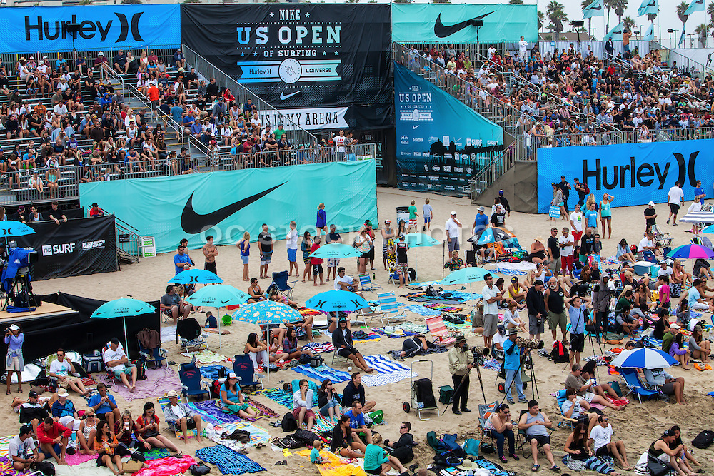 Us Open Surfing Competition Huntington Beach California