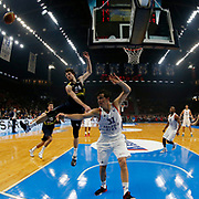 Anadolu Efes's Thomas Heurtel during their Turkish Basketball Spor Toto Super League match Anadolu Efes between Fenerbahce at the Abdi ipekci arena in Istanbul, Turkey, Thursday 24, December 2015. Photo by Aykut AKICI/TURKPIX