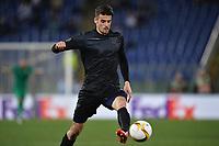 Wesley Hoedt Lazio <br /> Roma 17-03-2016 Stadio Olimpico Football Europa League Round of 16 second leg 2015/2016 Lazio - Sparta Praha. Foto Andrea Staccioli / Insidefoto