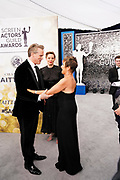 Cary Elwes, Vitalie Taittinger, President, SAG-AFTRA Gabrielle Carteris