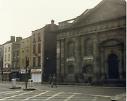 Old amateur photos of Dublin streets churches, cars, lanes, roads, shops schools, hospitals, Streetscape views are hard to come by while the quality is not always the best in this collection they do capture Dublin streets not often available and have seen a lot of change since photos were taken April 1986 St Catherine's Church, Tinkers Camp, Finglas, Building on Quays near Bridge St, Monkstown Castle, Gypsy Style Caravan Near Lucan, Thomas St, near old fire station, The Clock Pub Thomas St,