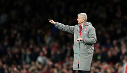 FILE PHOTO: Arsene Wenger is to leave Arsenal at the end of the season, ending a near 22-year reign as manager<br /><br />Arsenal manager Arsene Wenger ... Arsenal v West Ham United - Premier League - Emirates Stadium ... 05-04-2017 ... London ... UK ... Photo credit should read: John Walton/EMPICS Sport. Unique Reference No. 30831639 ...