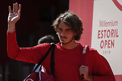 May 3, 2018 - Estoril, Portugal - during the Millennium Estoril Open tennis tournament in Estoril, outskirts of Lisbon, Portugal on May 1, 2018  (Credit Image: © Carlos Costa/NurPhoto via ZUMA Press)
