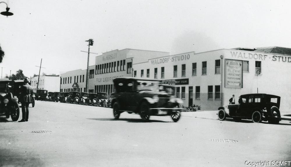 1924 Waldorf Studios on Sunset Blvd.