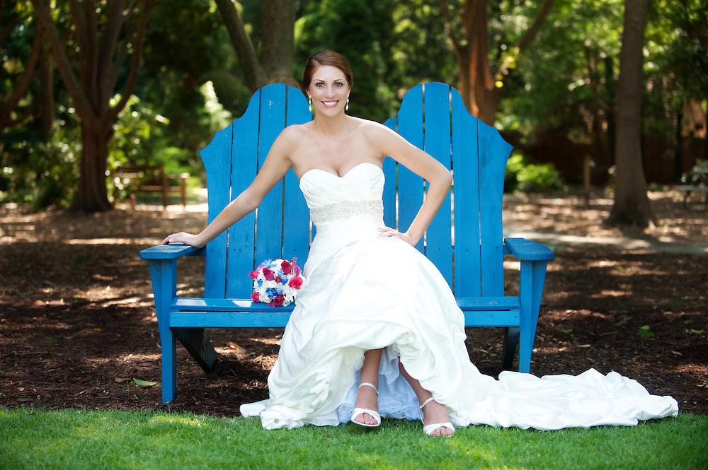 Garden Bridal Portrait