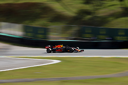 November 17, 2019, Sao Paulo, SP, Brazil: MAX VERSTAPPEN of the Red Bull Racing  winner of the Brazilian Formula 1 Grand Prix at Interlagos racetrack. (Credit Image: © Marcelo Chello/ZUMA Wire)