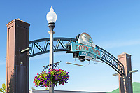 Welcome sign, Anacortes Washington