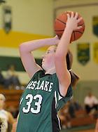 Westlake at Amherst girls varsity basketball on December 8, 2010 at Steele High School.