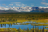Central Alaska Range from the Denali Highway Alaska