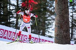 Kamila Zuk (POL) during the Mass Start Women 12,5 km at day 4 of IBU Biathlon World Cup 2019/20 Pokljuka, on January 23, 2020 in Rudno polje, Pokljuka, Pokljuka, Slovenia. Photo by Peter Podobnik / Sportida