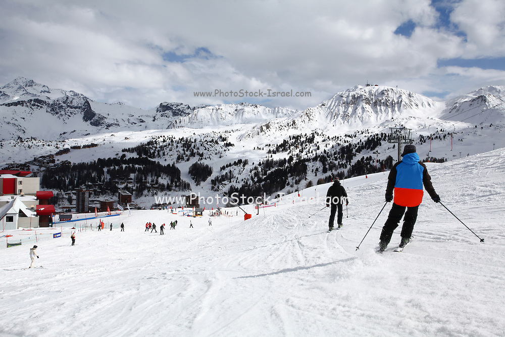 Les Arcs is a ski resort located in Savoie, France, in the Tarentaise Valley town of Bourg-Saint-Maurice.
