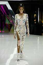 Winnie Harlow takes the cat-walk of Byblos fashion show during Milan Fashion Week Autumn/Winter 2019/20 on February 20, 2019 in Milan, Italy. Photo by Marco Piovanotto/ABACAPRESS.COM