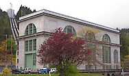 Cushman Power Generator building at the Hood Canal Tacoma City Light Hoodsport, Washington, USA