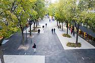 Ville de Sion avenue du Midi 19 octobre 2020. <br /> <br /> (STUDIO_54/ OLIVIER MAIRE)